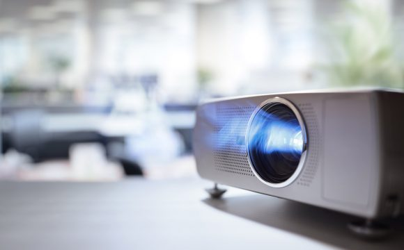 You don't need to replace your projector, it may just require a clean